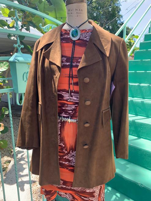 Revuelta Brown Suede Coat