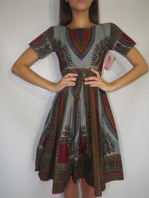 Dashiki Style Dress