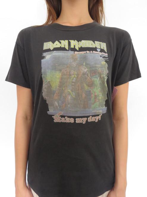 SOLD 1986 Iron Madden T-Shirt