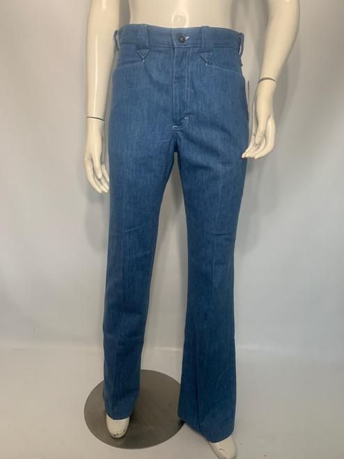 """""""Lee"""" Dead Stock Light Wash Western Style Denim Jeans"""