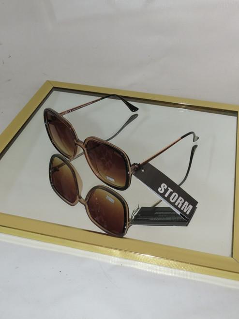 """Storm"" Halaesus Square Frame Sunglasses"