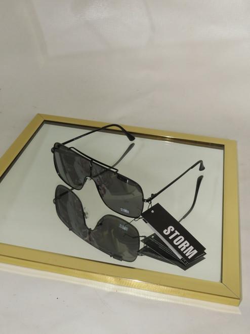 """Storm"" Epipole Wide Frame Sunglasses"