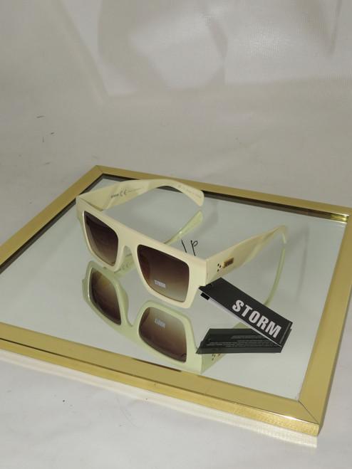 """Storm"" The Arae Ivory Square Sunglasses"