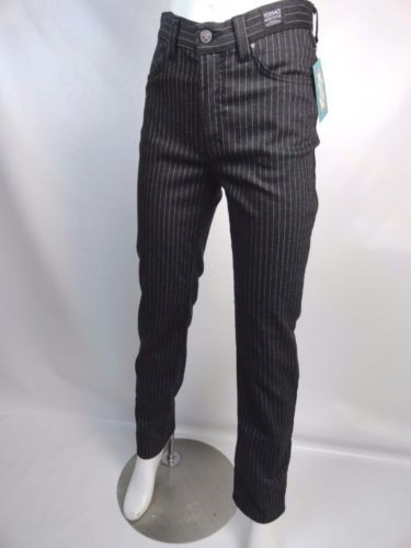 a9dcae243f Vintage 90 s Versace Jeans Couture Pen Striped Jeans - Orlando ...