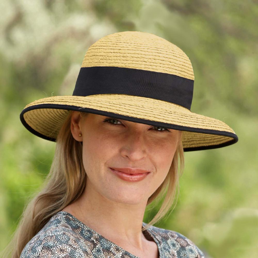 Tilley - R2 - Medium Brim Raffia Hat