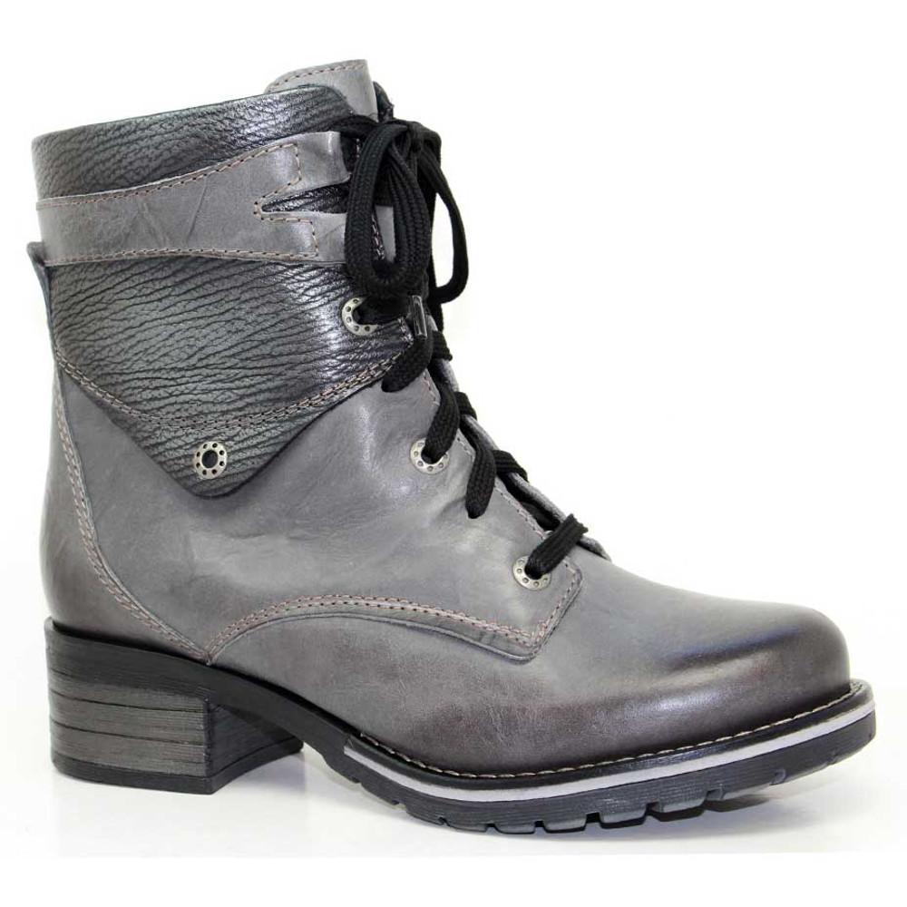 Dromedaris - Kara Boot -  Metallic Slate Leather