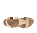 TAOS - SHEILA SANDAL - STONE LEATHER