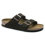 Birkenstock - Arizona Sandal - Soft Footbed - Mocha Suede