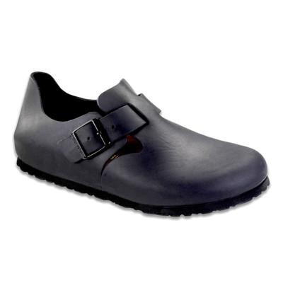 Birkenstock - London Shoe - Black Oiled Leather