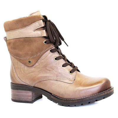 Dromedaris - Kara Boot - Taupe Leather/Suede