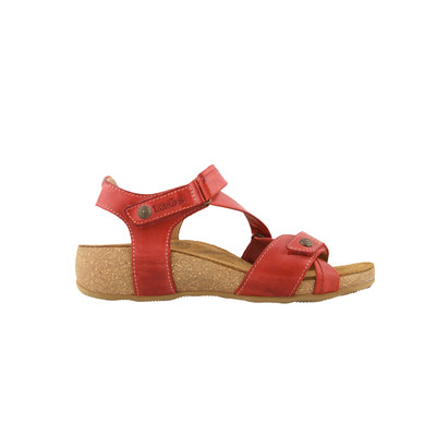 TAOS - UNIVERSE SANDAL - RED LEATHER