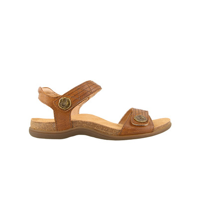 TAOS - PIONEER SANDAL - TAN LEATHER