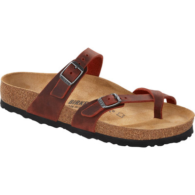 Birkenstock - Mayari Sandal - Earth Red Oiled Leather