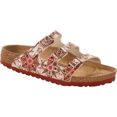 Birkenstock - Florida Fresh Sandal - Boho Flowers Earth Red Birko-Flor