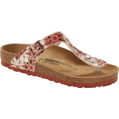 Birkenstock - Gizeh Sandal - Boho Flowers Red Earth Birko-Flor