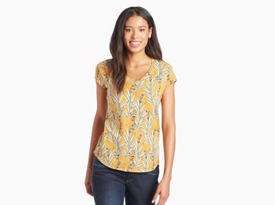 Kuhl - Kandid SS Shirt - Golden Print
