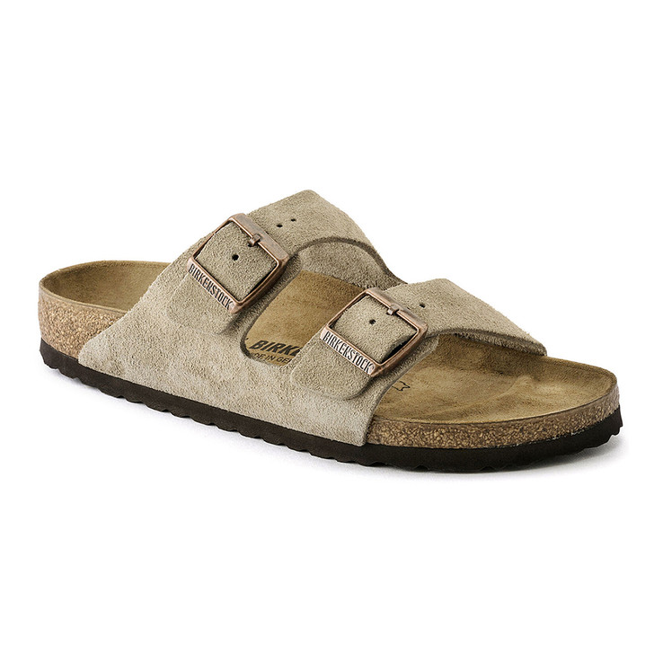 Birkenstock - Arizona Sandal - Taupe Suede