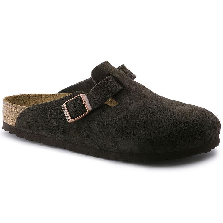 Birkenstock - Boston Clog  - Soft Footbed - Mocha Suede