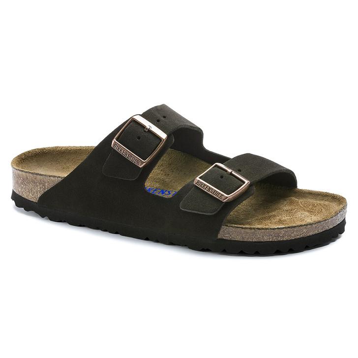 Birkenstock - Arizona Sandal Soft Footbed - Mocha Suede