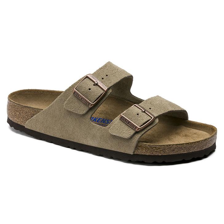 Birkenstock - Arizona Sandal - Soft Footbed - Taupe Suede