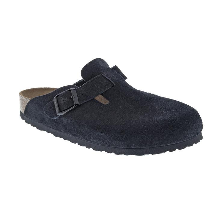 Birkenstock - Boston Clog - Soft Footbed - Black Suede