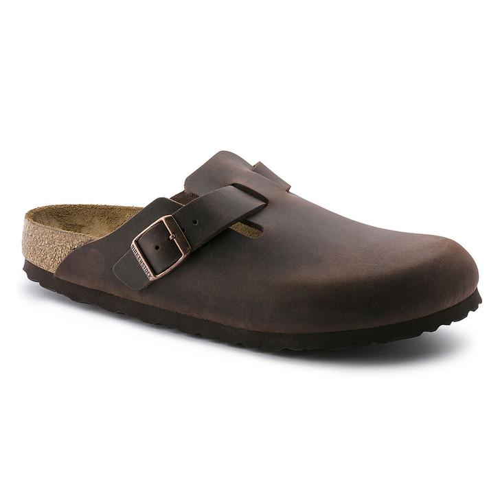 Birkenstock - Boston Clog - Habana Oiled Leather