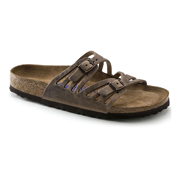 Birkenstock - Granada Sandal - Soft Footbed - Tobacco Oiled Leather