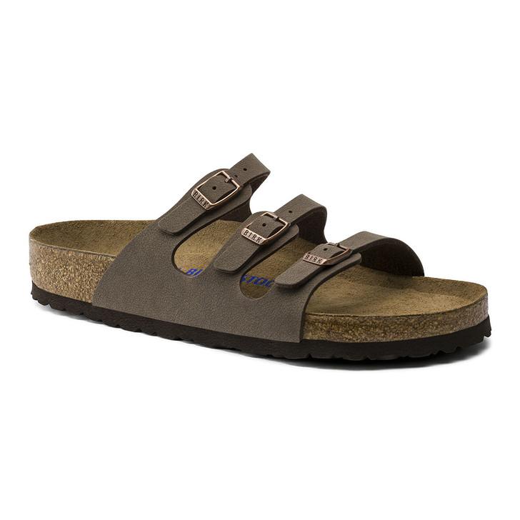 Birkenstock - Florida Sandal - Soft Footbed - Mocha Birkibuc