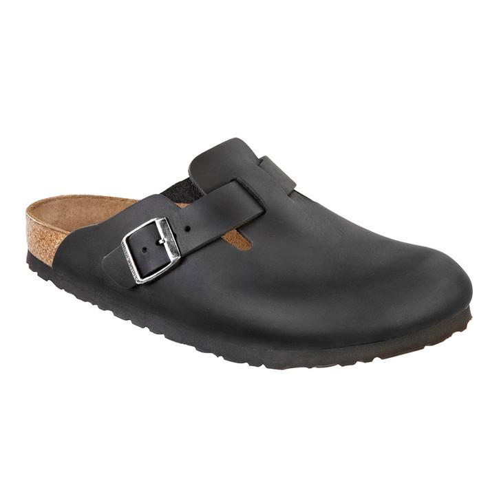 Birkenstock - Boston Clog - Black Oiled Leather