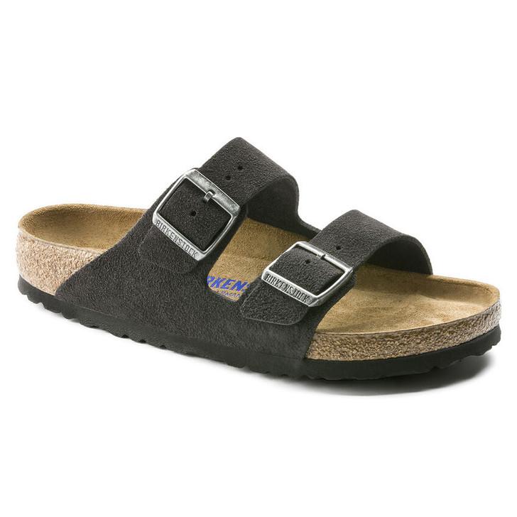 Birkenstock - Arizona sandal - Soft Footbed - Velvet Grey Suede