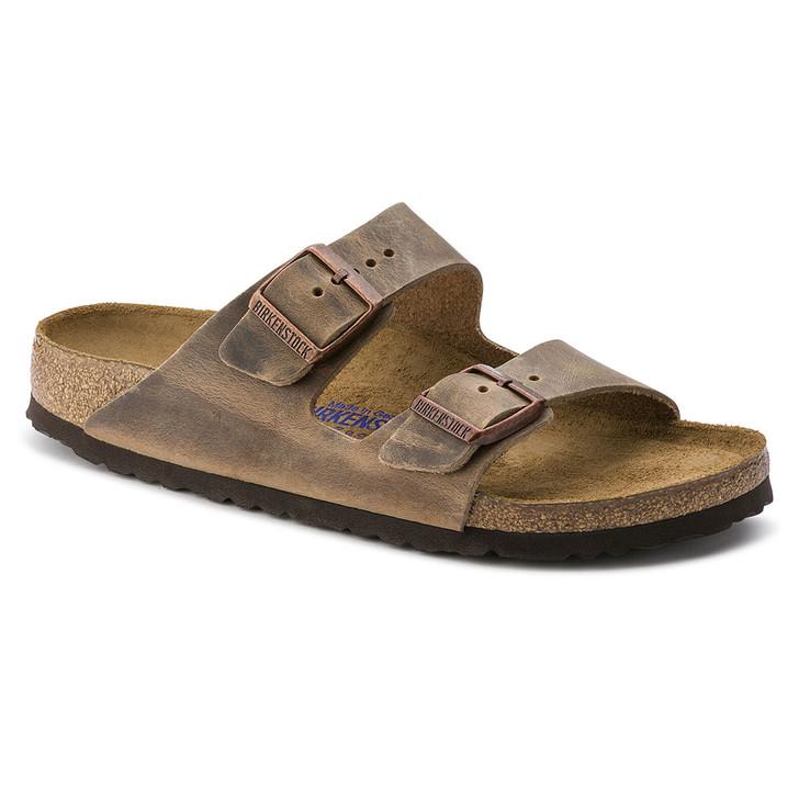 Birkenstock - Arizona Sandal Soft Footbed - Tobacco Oiled Leather
