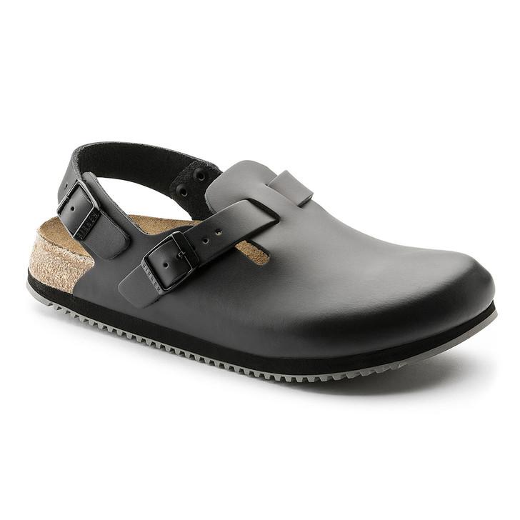 Birkenstock - Tokyo Clog - Super Grip - Black Leather