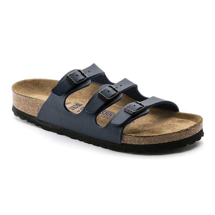 Birkenstock - Florida Sandal - Soft Footbed - Navy Birko Flor