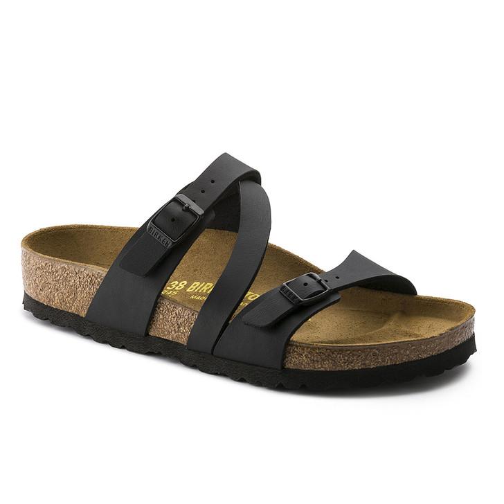 Birkenstock - Salina Sandal - Black Birko Flor