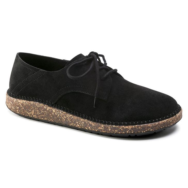 Birkenstock - Gary Lace Shoe - Black Suede