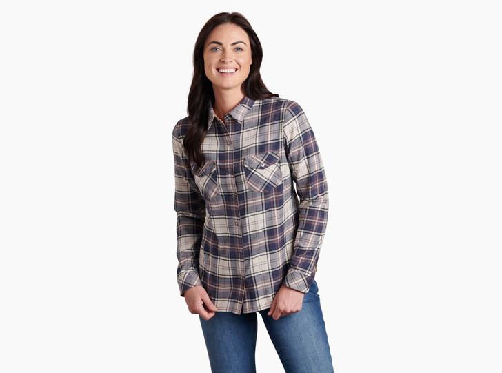 Kuhl - Tess Flannel LS Shirt - Nightfall