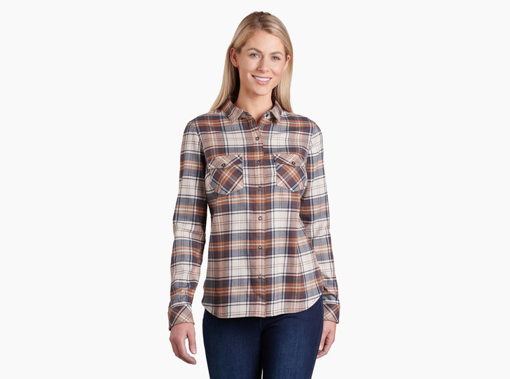 Kuhl - Tess Flannel LS Shirt - Copper