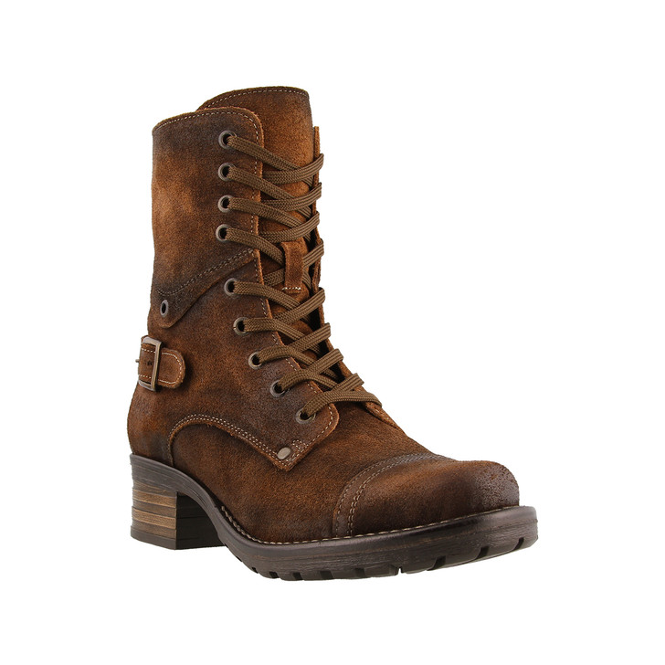 Taos - Crave Boot - Brown Rugged Leather
