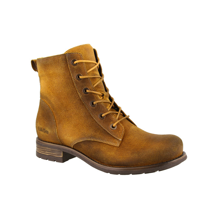 Taos - Boot Camp Boot - Curry Rugged Leather