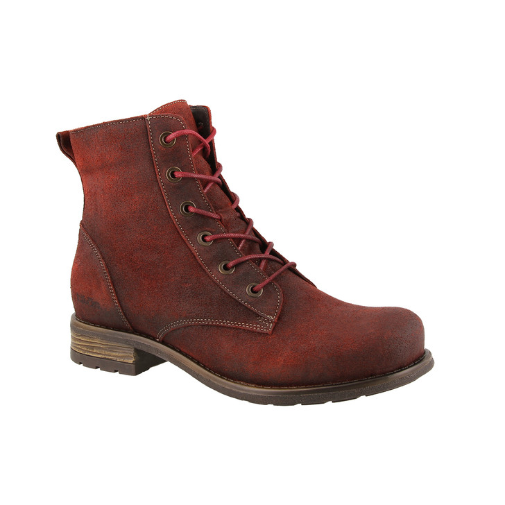 Taos - Boot Camp Boot - Garnet Rugged Leather