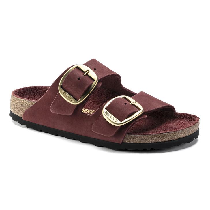 Birkenstock - Arizona Big Buckle Sandal - Vermouth Nubuck Leather
