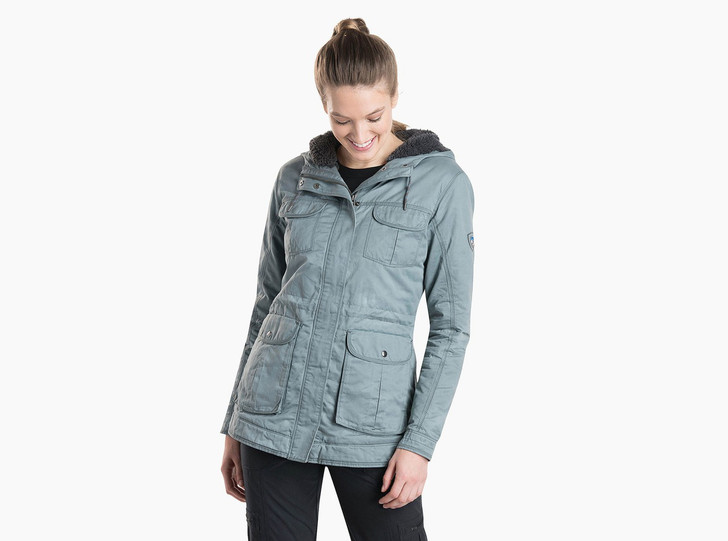 Kuhl - Luna Jacket Fleece Lined W's - Mineral Blue