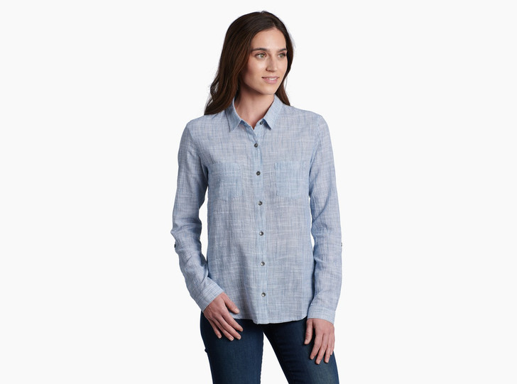 Kuhl - Adele LS Shirt W's - Storm Blue