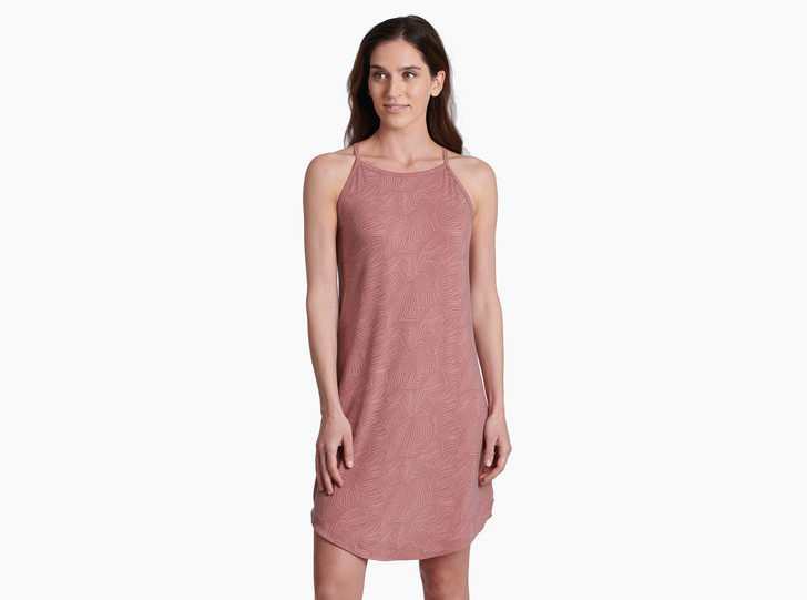 Kuhl - Kira Dress W's - Rosewood Print