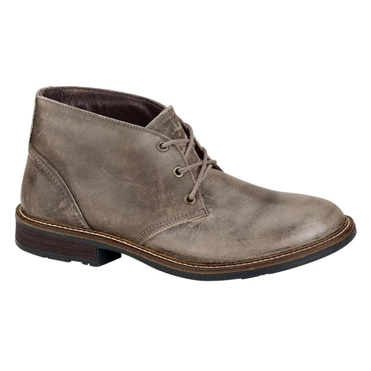 Naot - Pilot Shoe - Vintage Grey Leather