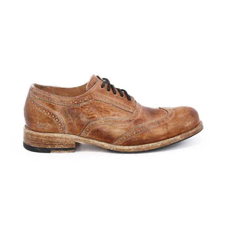 Bedstu - Corsico II Shoe - Tan Dip Dye Tremolo Wash Leather