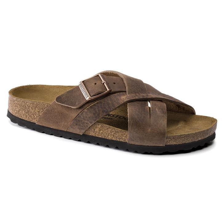 Birkenstock - Lugano Sandal - Camberra Tobacco Oiled Leather