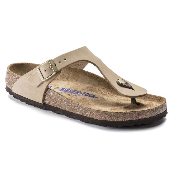 Birkenstock - Gizeh Sandal - Sandcastle Nubuck Leather