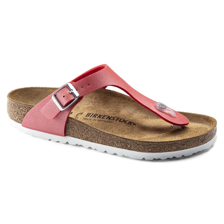 Birkenstock - Gizeh Sandal - Icy Metallic Poppy Birko Flor