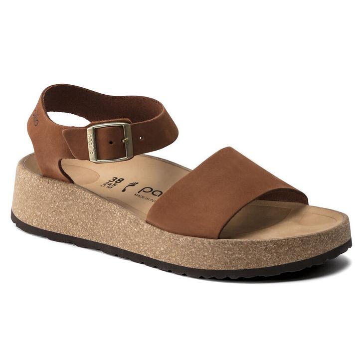 Birkenstock Papillio - Glenda Sandal - Pecan Nubuck Leather